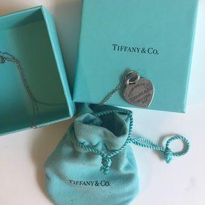 Tiffany Heart Tag Pendant